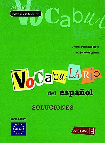 9788496942035: Viva el Vocabulario - iniciación (A1-B1) - Solucionario