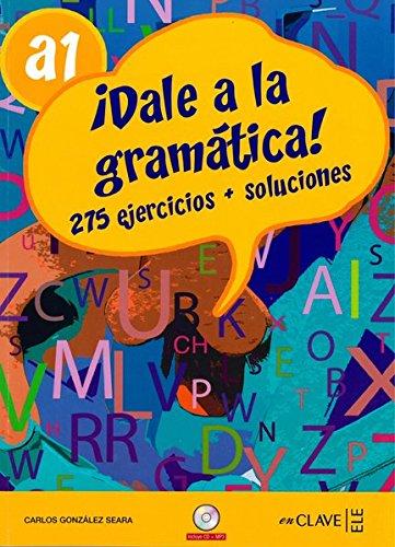 9788496942318: Dale a la gramática A1 + CD audio
