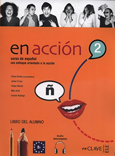 9788496942899: En Acción 2 - libro del alumno + Audio Download