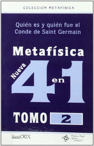 9788496951518: METAFISICA 4 EN 1 VOL.2 Orix - Pluma Y Papel
