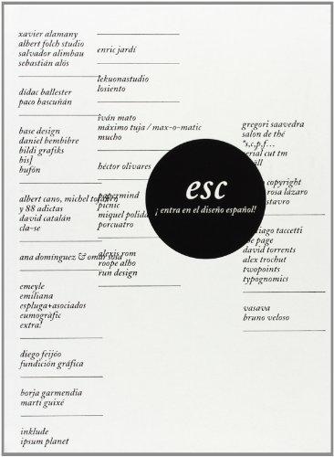 9788496954045: Esc: Enter Spanish Creativity