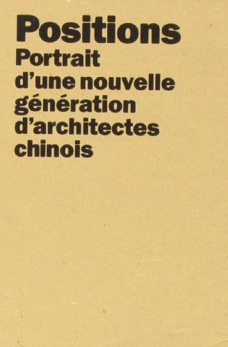9788496954618: Dans la Ville Chinoise/Positions (Coffret 2 Titres) /Français (ACTAR)
