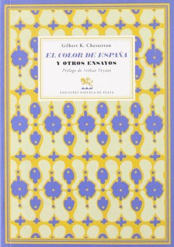 9788496956018: El color de España y otros ensayos