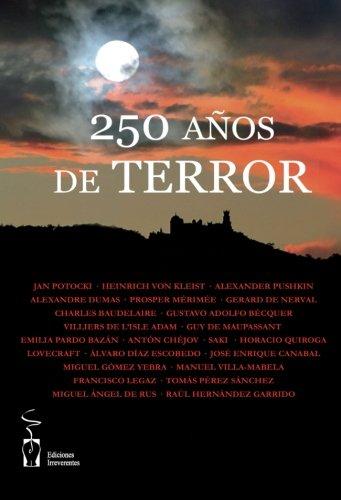 9788496959248: 250 años de terror (Narrativa)