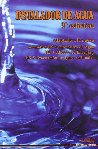 9788496960138: INSTALADOR DE AGUA 3ª edición
