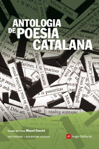 9788496970557: Antologia de poesia catalana (Angle Lector)