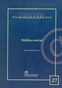 Política social: Alduán Guerra, Marino