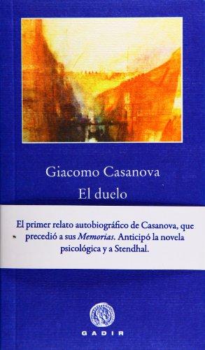 9788496974463: El duelo (Pequeña Biblioteca Gadir)