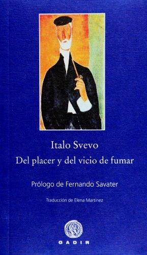 9788496974722: Del placer y del vicio de fumar (Pequeña Biblioteca Gadir)