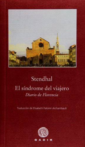 9788496974791: El síndrome del viajero: Diario de Florencia (Pequeña Biblioteca)