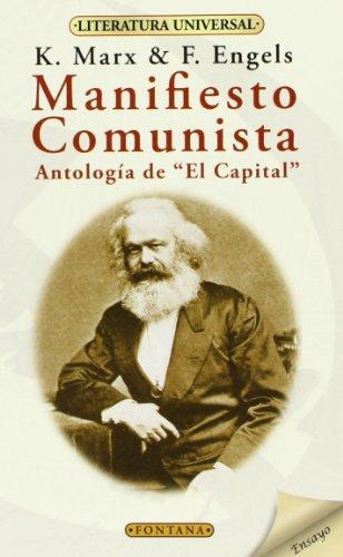 9788496975491: Manifiesto Comunista. Antología De El Capital