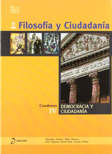 9788496976207: FILOSOFIA Y CIUDADANIA. 1 BACHILLERATO. CUADERNO