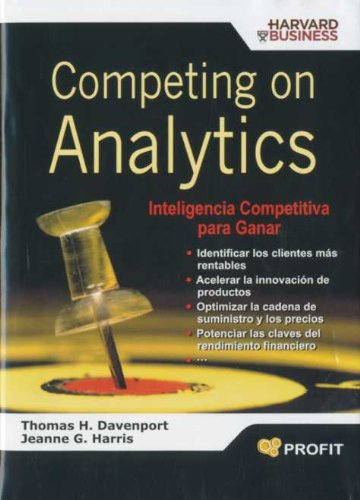 COMPETING ON ANALYTICS: THOMAS H DAVENPORT