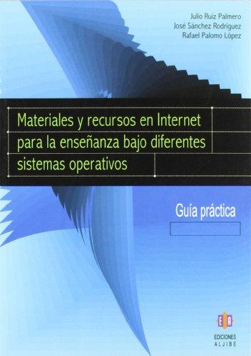 Materiales y recursos en Internet para la: Palmero, Julio Ruiz