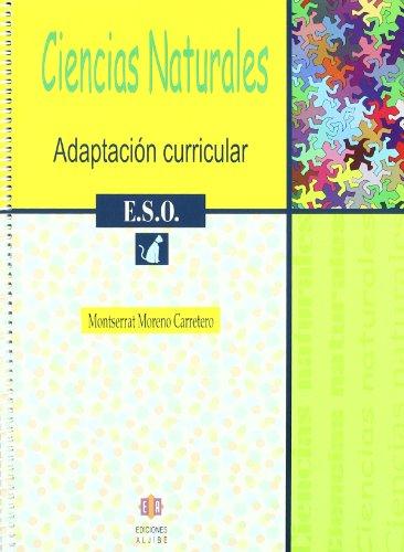 Ciencias naturales 1 ESO Adaptación curricular: Moreno Carretero, Montserrat