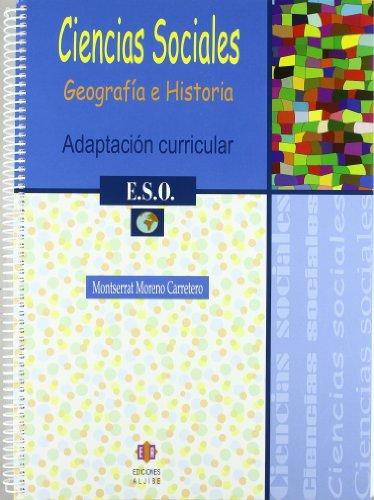 9788497003650: Ciencias sociales: Adaptación curricular. 1º de E.S.O.