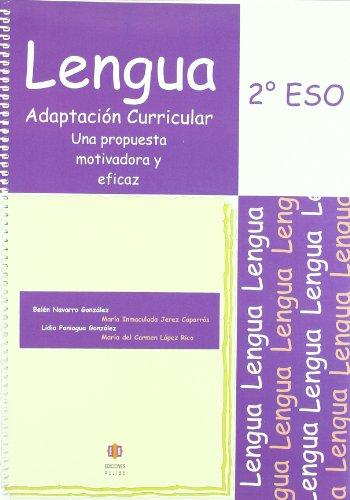 9788497004183: Lengua: Adaptación curricular. 2º de E.S.O.
