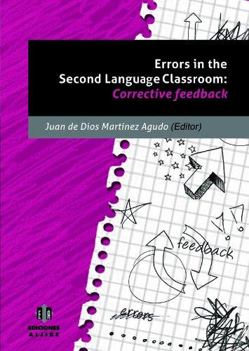 ERRORS IN THE SECOND LANGUAJE CLASSROOM: MARTINEZ AGUDO, JUAN