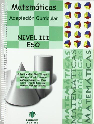 9788497006125: Adaptación Curricular. Matemáticas. Nivel 3º. ESO