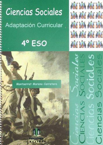 Ciencias sociales: Moreno Carretero, Motserrat