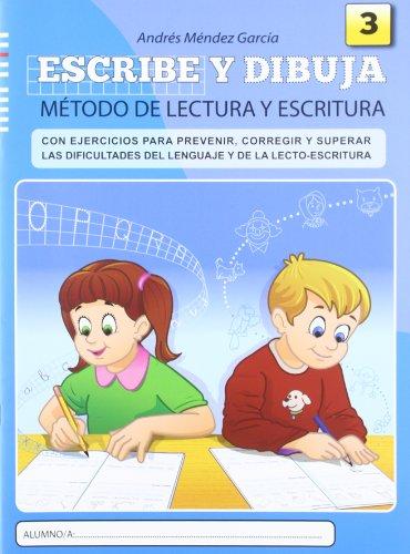 9788497007092: Escribe y dibuja: Cuaderno 3-9788497007092