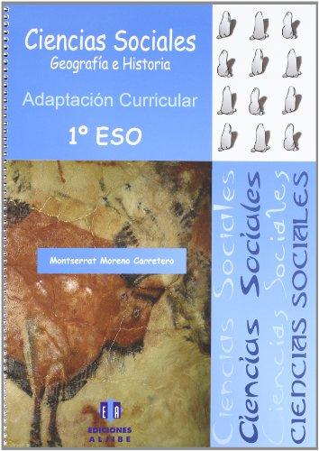 CIENCIAS SOCIALES 1º ESO ADAPTACION CURRICUL: MORENO CARRETERO, MONSERRAT