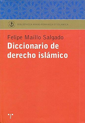 9788497042109: Diccionario de Derecho Islamico (Spanish Edition)