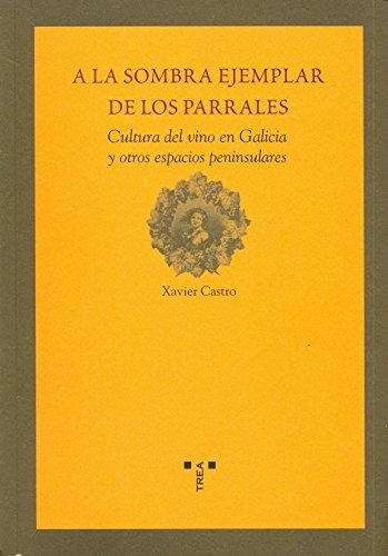 9788497042642: A la sombra ejemplar de los parrales: Cultura del vino en Galicia y otros espacios peninsulares (La comida de la vida)