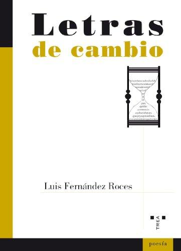 LETRAS DE CAMBIO - FERNÁNDEZ ROCES, LUIS