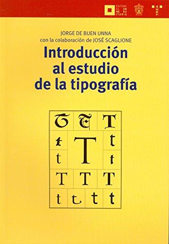 9788497045896: Introducción al estudio de la tipografía (Biblioteconomía y Administración Cultural)