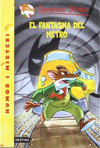 9788497089548: El fantasma del metro (GERONIMO STILTON)