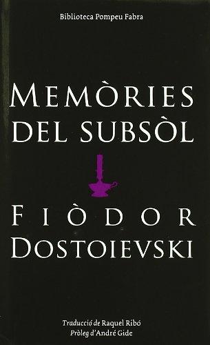 9788497100663: Memòries Del Subsol