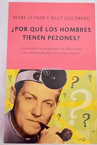 9788497110228: POR QUE LOS HOMBRES TIENEN PEZONES?: CEN