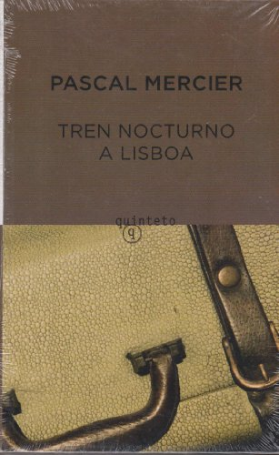 9788497111119: Tren nocturno a Lisboa (Quinteto Bolsillo)
