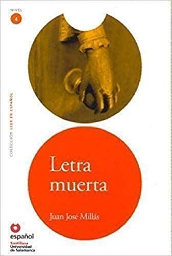 9788497130837: Letra muerta/ A Dead Letter (Leer En Espanol Level 4) (Spanish Edition)