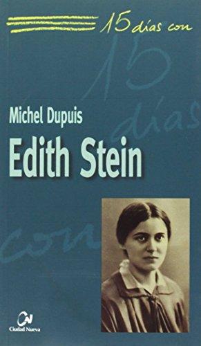 9788497150231: Edith Stein (15 días con)