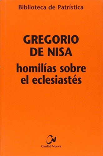 9788497152471: Homilías sobre el Eclesiastés (Biblioteca de Patrística)