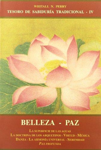 9788497160513: Belleza - Paz