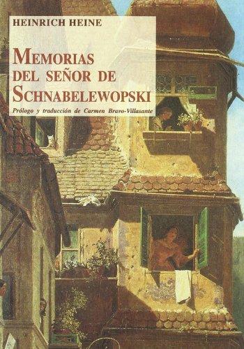 9788497161411: Memorias del señor de schnabelewopski