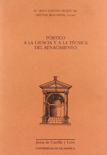 PORTICO A LA CIENCIA Y A LA: María Jesús Mancho