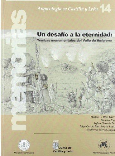 UN DESAFIO A LA ETERNIDAD: Tumbas monumentales del Valle de Ambrona: Manuel A. Rojo Guerra, Michael...