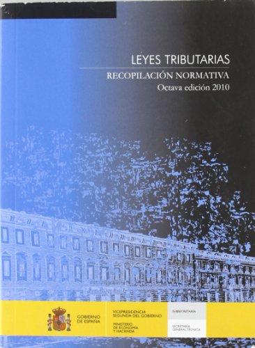 9788497201759: Leyes tributarias: recopilacion normativa