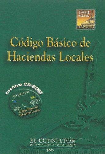 9788497254038: Código básico de las haciendas locales 2003