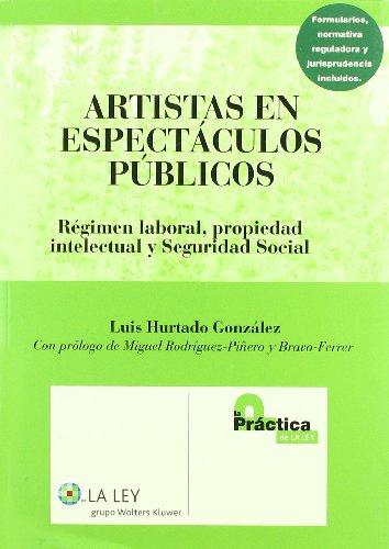 9788497256681: Artistas en espectaculos publicos