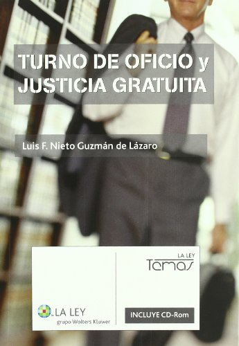 9788497259873: Turno de Oficio y Justicia Gratuita