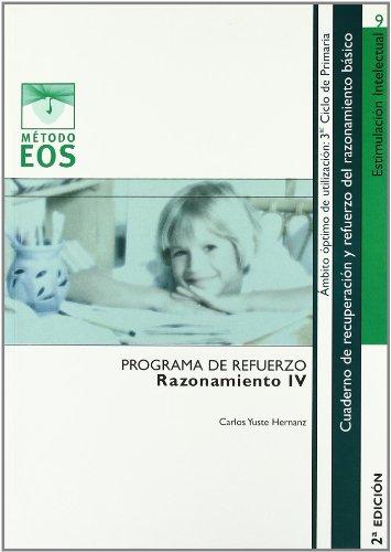 9788497272278: Programa de Refuerzo del razonamiento IV