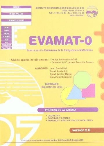 9788497273565: EVAMAT-0 Batería para la Evaluación de la Competencia Matemática (División Test)