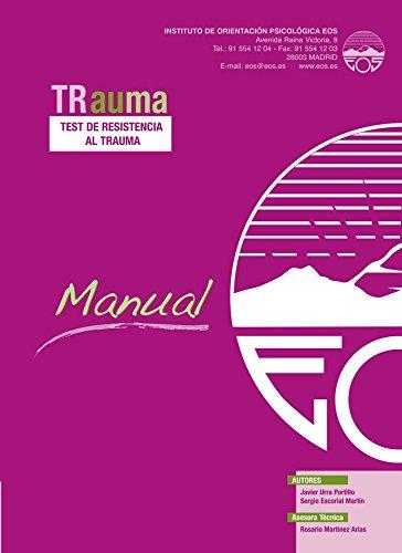 9788497274340: TRauma Test de resistencia al Trauma (Juego Completo) (División Test)