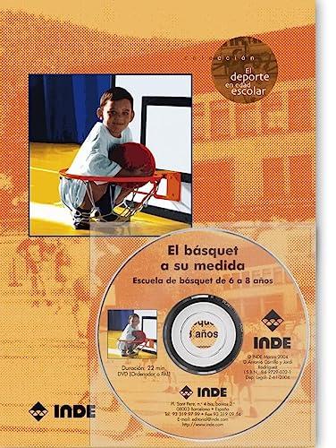 9788497290326: El básquet a su medida : escuela de básquet de 6 a 8 años