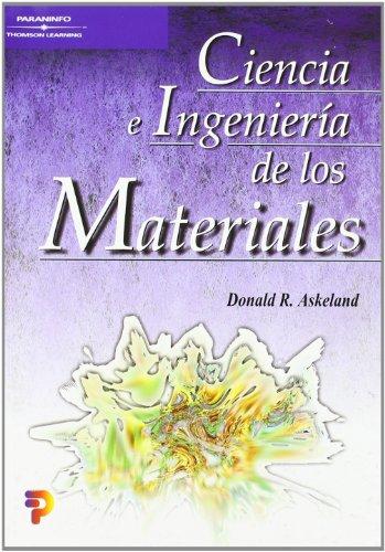 9788497320160: Ciencia e ingeniería de los materiales